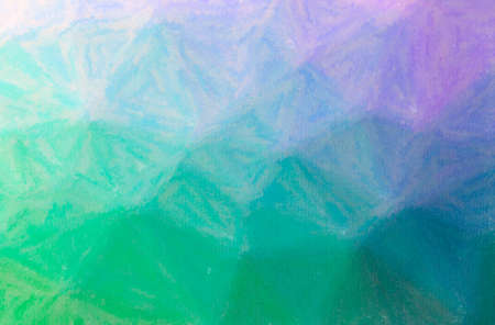 Abstract illustration of blue and purple Wax Crayon background