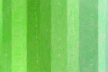 Green lines wax crayon background, digitally created.