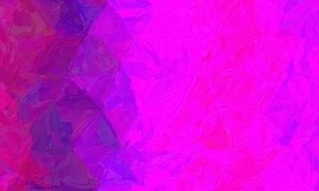 Fuchsia color impressionist impasto background, digitally created.