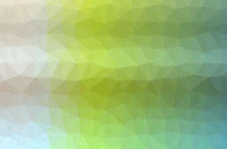 Abstract illustration of green, blue and creamy Impasto with soft brush background.