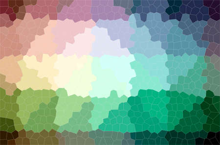 Abstract illustration of green Small Hexagon background