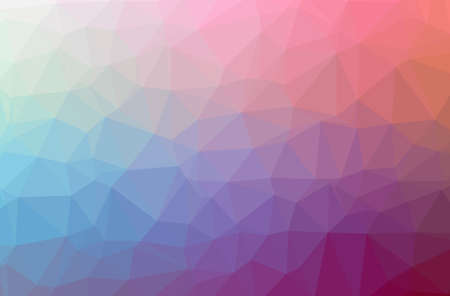 Illustration of abstract Purple horizontal low poly background. Beautiful polygon design pattern. Stock fotó