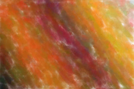 Pink, yellow and blue waves Watercolor with low coverage abstract paint background.