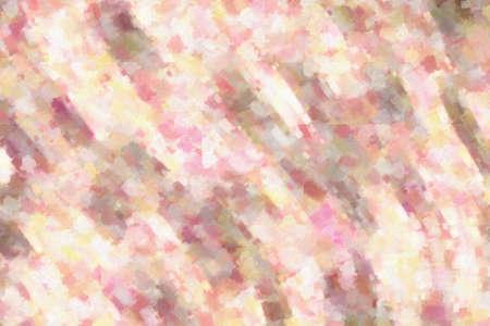 Pink waves dry brush oil paint background, digitally created. 版權商用圖片