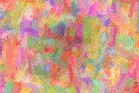 Pink waves bristle brush oil paint background, digitally created. 版權商用圖片