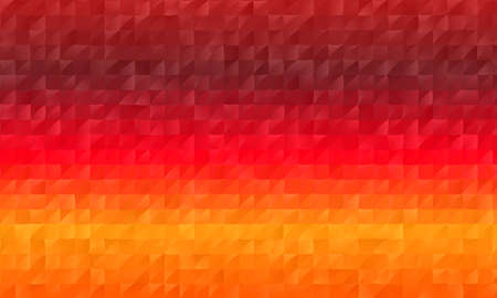 Red and orange polygonal abstract background. Great illustration for your needs. 矢量图像