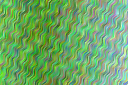 Green waves abstract background. Great illustration for your needs. 向量圖像