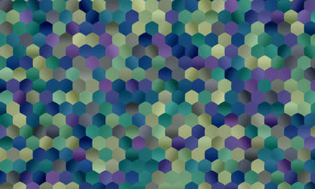 Yellow and blue abstract background. Great illustration for your needs.