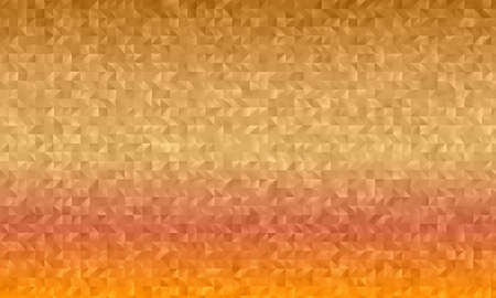 Brown, yellow and red polygonal abstract background. Great illustration for your needs.