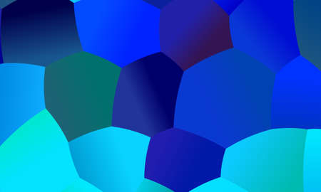 Blue polygonal abstract background. Great illustration for your needs. Illusztráció