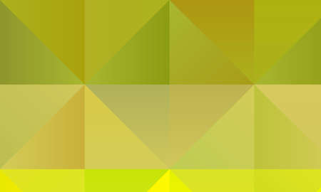 Lemon green polygonal abstract background. Great illustration for your needs.