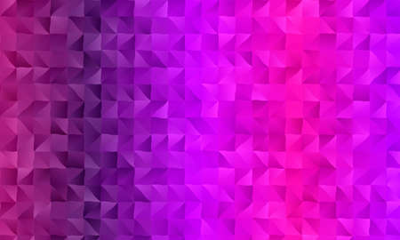 Fuchsia color polygonal abstract background. Great illustration for your needs.