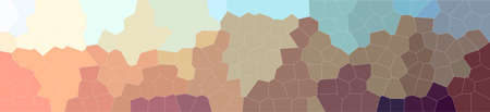 Abstract illustration of orange Little Hexagon background