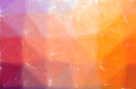 Illustration of orange and purple Watercolor Wash paint background, digitally generated. 免版税图像
