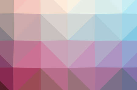 Illustration of abstract Pink horizontal low poly background. Beautiful polygon design pattern. 免版税图像
