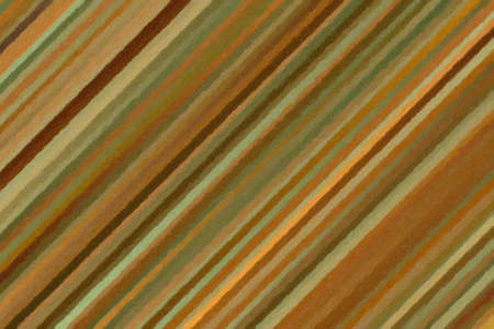 Brown and green lines impasto background, digitally created.