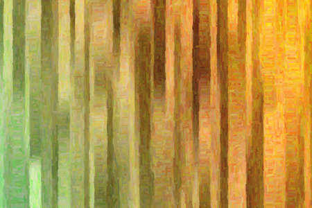 Brown lines colorful impasto background, digitally created.