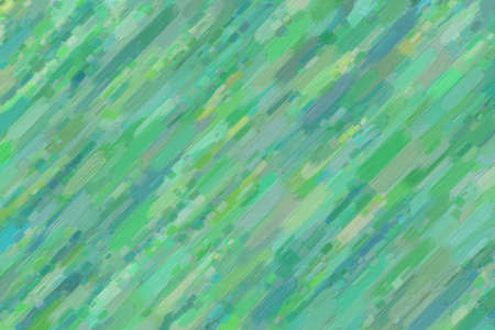 Green and yellow lines oil paint with big brush background, digitally created. 스톡 콘텐츠
