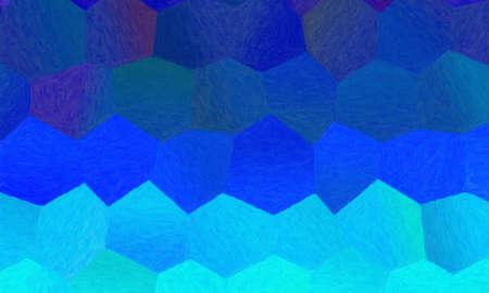 Blue impasto background, digitally created. 免版税图像