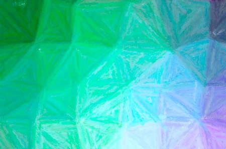Abstract illustration of green Long brush Strokes Pastel background 免版税图像