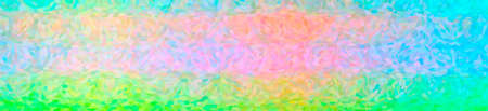 Abstract illustration of green, pink, red, yellow Impressionist Pointlilism background 免版税图像