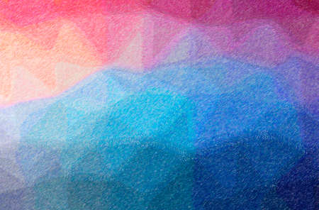 Abstract illustration of blue and purple Color Pencil High Coverage background 免版税图像