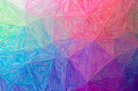 Abstract illustration of purple Colorful Impasto background 免版税图像