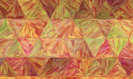Brown, yellow and red large color variation oil paint background, digitally created.