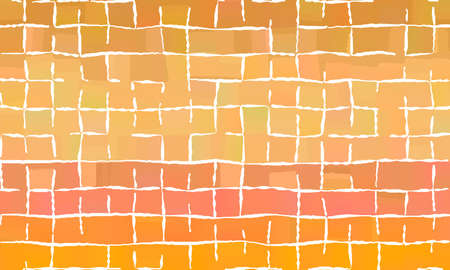 Brown, yellow and red with white lines background, digitally created.