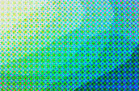Abstract illustration of blue and green Dots background