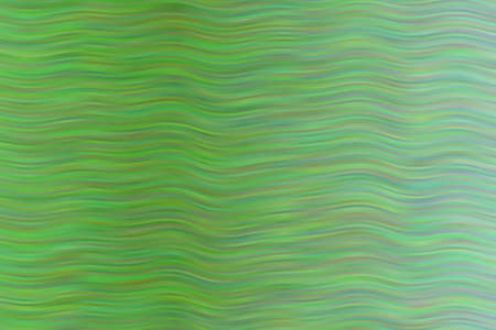 Green waves abstract background. Great illustration for your needs. Ilustração