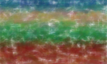 Red, green, blue and brown watercolor background, digitally created. Banco de Imagens