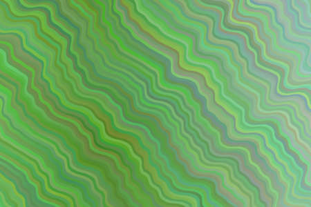 Green waves abstract background. Great illustration for your needs. Illustration