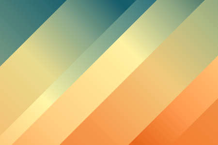 Orange, yellow and green lines abstract background. Great illustration for your needs.
