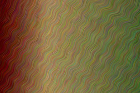 Green and dark red waves abstract background. Great illustration for your needs.