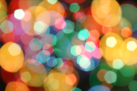 blurred lights with colorful shades Foto de archivo - 116707258