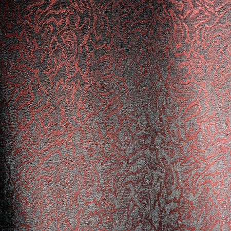 red and white cloth material texture with pink abstract floral designs