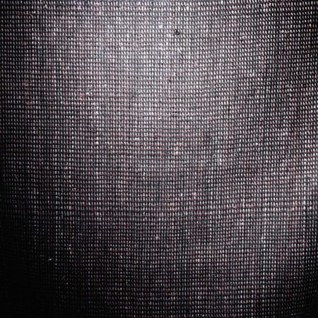 black and white textured material cloth with threads background