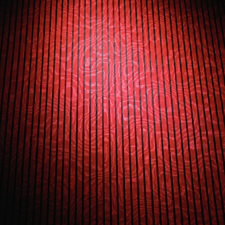red and maroon cloth material texture with black stripes and abstract design Imagens