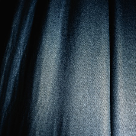royal blue shiny jeans textured curtain cloth material background