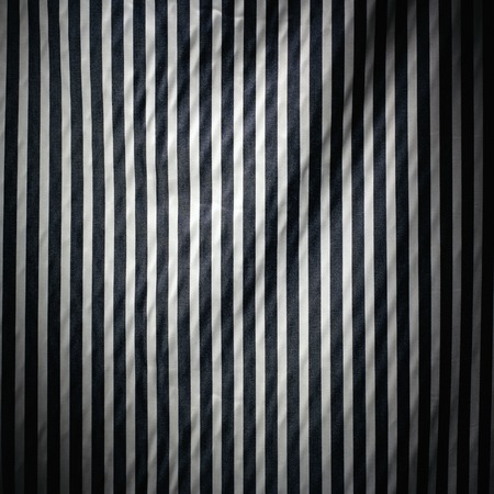 black and white stripes textured cloth material background