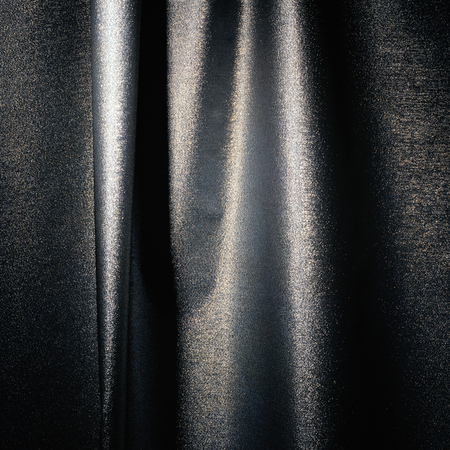 grey and white shiny satin decorative cloth material texture background Imagens
