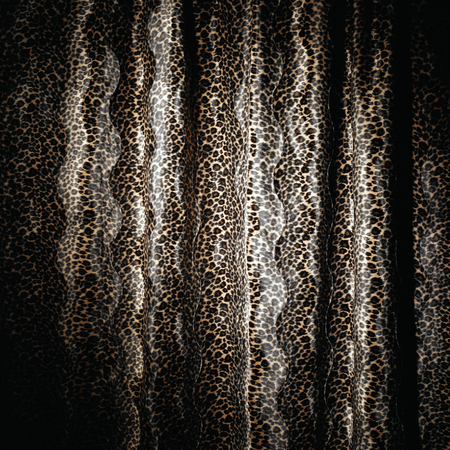 black and brown snake skin texture material with spots Imagens