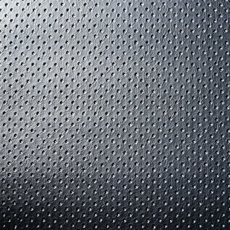 spotted grey leather material texture background Imagens