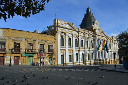 la paz: Presidential Palace La Paz Editorial
