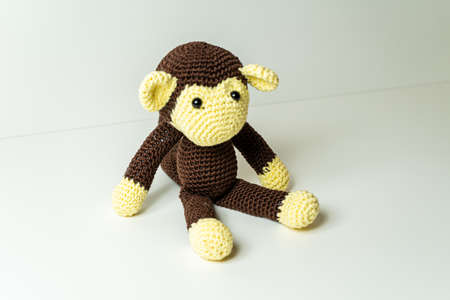 Amigurumi, chimpanzee, monkey, homemade
