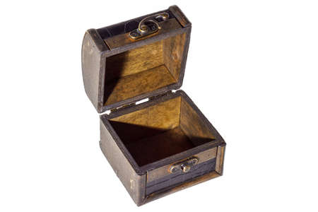 Isolated treasure chest 写真素材