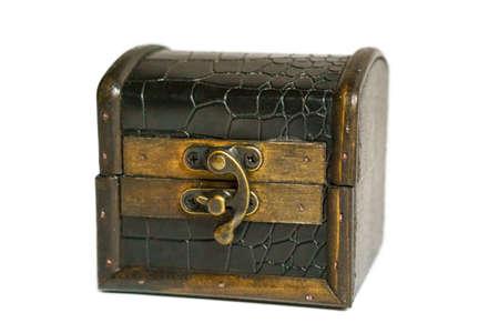 Isolated treasure chest