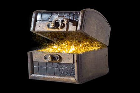 Isolated treasure chest 写真素材 - 167229231