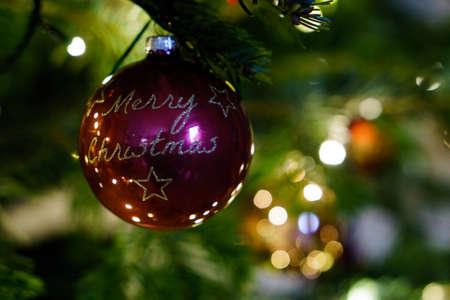 Christmas and Christmas Tree Decoration 写真素材 - 167229238